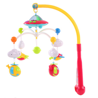 Harga Baby Bed Bell Musical Mobile Crib Dreamful Bed Ring Hanging Rotate Bell - intl