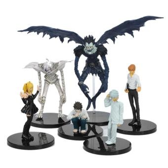 Harga Death Note Yagami Light Ryuk Near Kira Misa L Figures Set (6-Piece) - intl