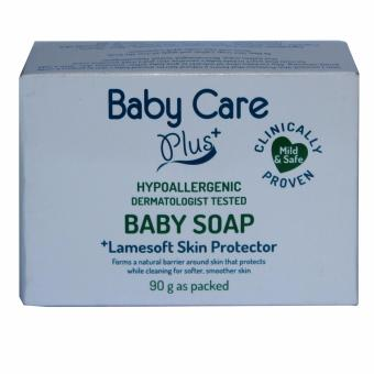 Baby Care Plus Blue Baby Soap 90g with Lamesoft Skin Protector Price Philippines