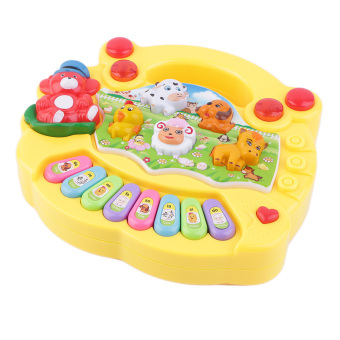 Harga OH Baby Kids Musical Educational Animal Farm Piano Developmental Music Toy Gift