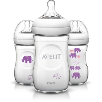 Philips Avent Natural Bottle Deco 9oz Pack of 3 Price Philippines