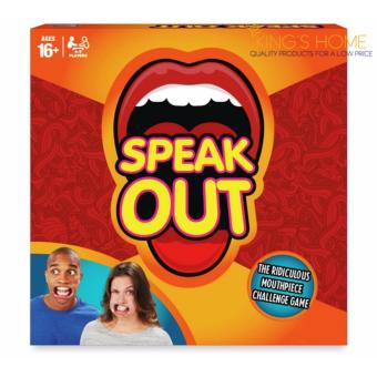 Harga King's Home Speak Out The Ridiculous Mouthpiece Challenge Game