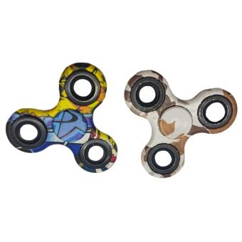 Harga Smart Fidget Gyro Spinner 2pieces (multicolor)