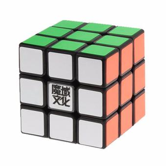 Harga MoYu Weilong Magic Cube Rubik's Cube Brain Teasers Speed 3x3x3 Puzzles Black Body YJ8209