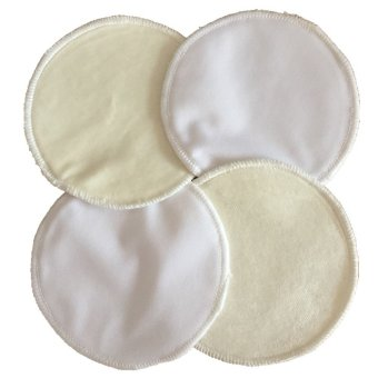 Asenappy Washable Bamboo Velour Nursing Pads 4 PCS Waterproof cloth Breast Pads Price Philippines