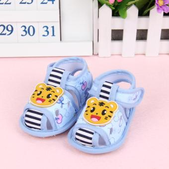 Harga Fisher-price Little tiger shoes blue