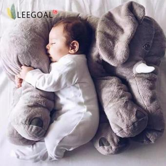 Leegoal Baby Elephant Plush Pillow Cool Big Cushion Soft Doll Best Gifts Toy Gray - intl Price Philippines