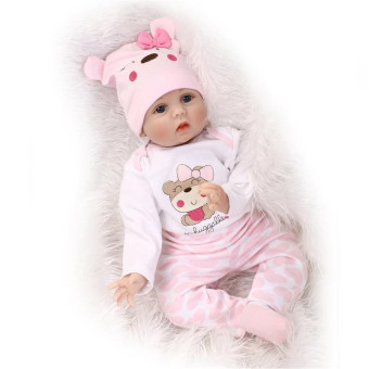 Harga NPK Collection Reborn Doll the Simulation Baby Baby Princess Baby Toys Children's Day Gift 22inch/55cm - Intl