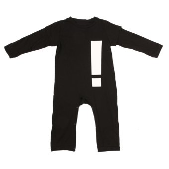 Harga Baby Exclamation Point Short Sleeve Rompers Jumpsuit - intl
