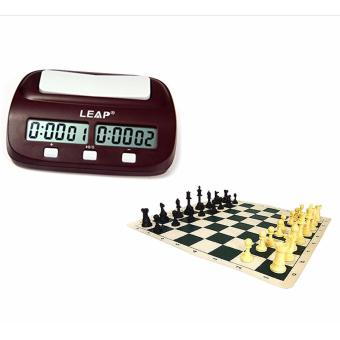 Eureka Chess Set with Leap Digital Chess Timer Price Philippines