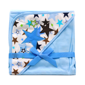 BABY STEPS Stars Baby Blanket (Blue) Price Philippines