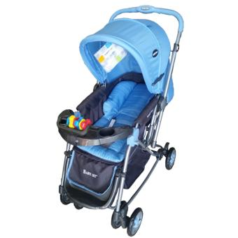 Baby 1st Stroller with Reversible Handle and Rocking Feature S-036CR, BLUE Price Philippines