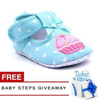 Harga Baby Steps Baby Girl Shoes and Giveaway