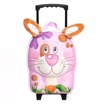 Harga OKIEDOG WILDPACK TROLLEY RABBIT PINK 80013
