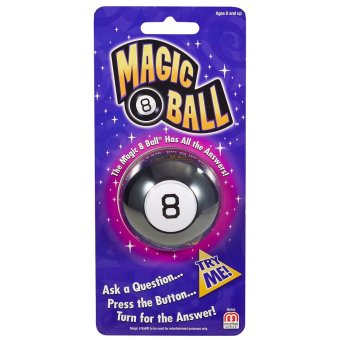 Mattel Games Mini Magic 8 Ball Price Philippines