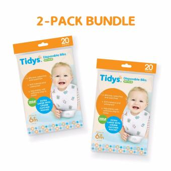Harga Tidys Disposable Bibs (2 Packs)