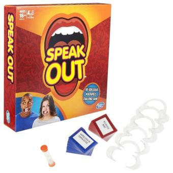 Harga Speak Out Mouthpiece Board Game Party Challenge Friends Game