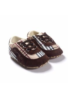 Harga Cool Checkered Casual Baby Sneakers