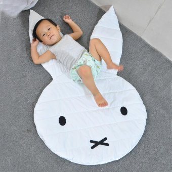 Harga Rabbit Playmat Blanket Baby Play Rug Baby Game Mat - intl