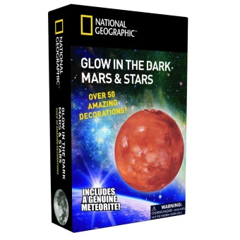 National Geographic Glow In The Dark 3D Mars and Stars Toy Price Philippines