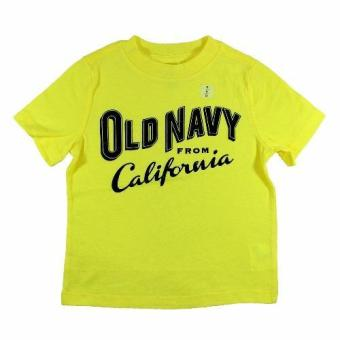Harga Old Navy Kids Shirt California - Yellow