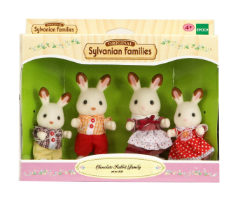 Harga Sylvanian Families Chocolate Rabbit Family