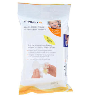 Medela Quick Clean Breast Pump and Accessory Wipes, 24 Count Price Philippines