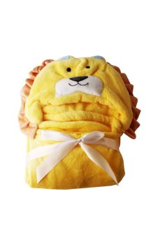Harga Lion Hooded Blanket (Yellow)