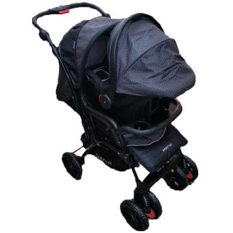 Baby 1st Stroller With Carrier Travel System, Black Price Philippines