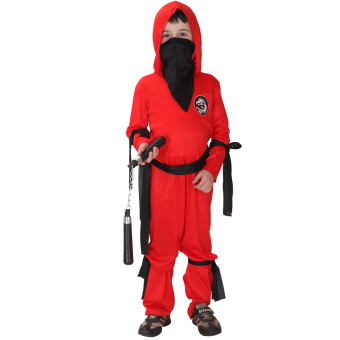 Harga EOZY Childrens Halloween Carnival Costume Party Clothing For Boys Naruto Clothes -L (Red)