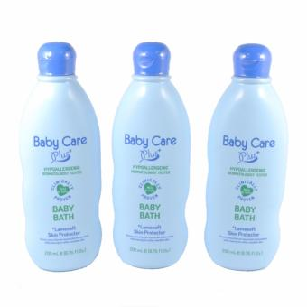 Baby Care Plus Blue Baby Bath Set of 3 200mL Price Philippines