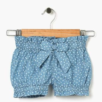Just Jeans Girls Floral Chambray Bloomer Shorts (Blue) Price Philippines