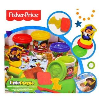Harga Fisher Price Little People Play and Pretend Farm Clay Toy Set 131019