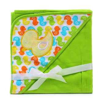 BABY STEPS Ducklings Baby Blanket (Green) Price Philippines