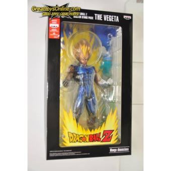 Banpresto Dragon Ball Z Master Stars Piece Vegeta Manga Dimensions Statue ORIGINAL* Price Philippines