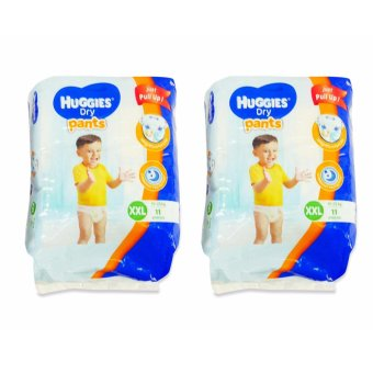 Harga Huggies Dry Pants XXL 11's Pieces 020792 2's