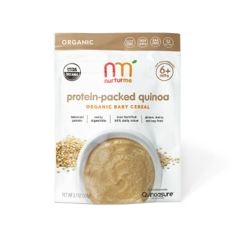 Nurturme Protein-Packed Quinoa Organic Baby Cereal 104g (White/Brown) Price Philippines