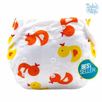 BABY STEPS Ducklings Baby Diapers (Yellow/Orange) Price Philippines