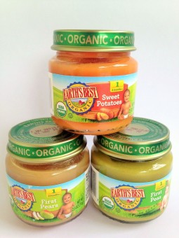 Earth's Best Organic Baby Food Stage 1 (Sweet Potatoes, Pears, Peas) Price Philippines