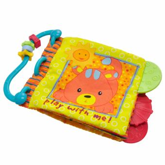 Harga Rabbit Teether Cloth Book
