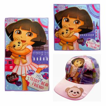 Dora Microfiber Face & Hand Towel with Cap Price Philippines
