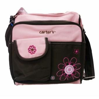 Harga Carter's Small Nursery Diaper Bag (Pink/Brown)