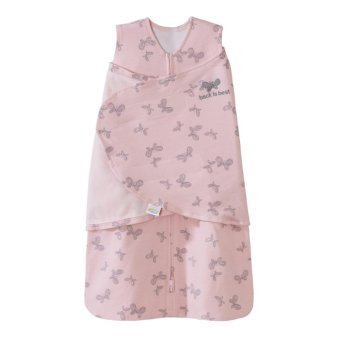 Harga Halo SleepSack Swaddle Pink Butterfly Scribble NB