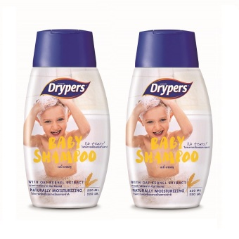 Harga Drypers Baby Shampoo 220ml Pack of 2
