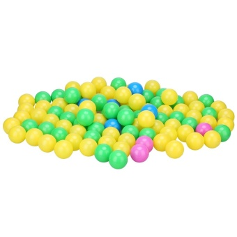 Harga 100pcs/set Soft Plastic Colorful Children Kids Secure Ocean Balls Baby Pits Swim Toys 4cm - intl