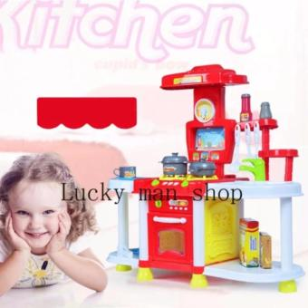 Harga lazada and USA best selling BIG SIZE Kitchen Set (Red)