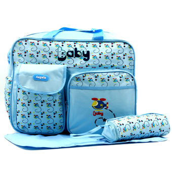 BABY STEPS Angelo Copter Fashion Diaper Bag (SkyBlue) Price Philippines