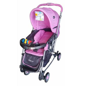 Baby 1st Stroller w/ rocking feature S-036CR DEC 2016 (pink) Price Philippines