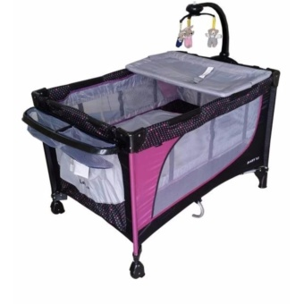 Baby 1st Playpen with Rocking System (510DCR) (Purple) Price Philippines