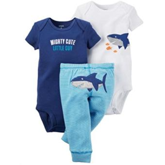 Harga Carter's 3-piece Set - Shark